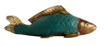 Statuette of a Koi Carp Royalty Free Stock Photos