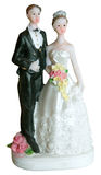 Statuette of newly-weds Stock Photo