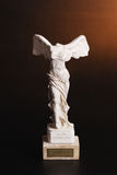 Statuette of Nika - the greek goddess of victory. Marble statuette of Nika - the greek goddess of victory Stock Photo