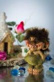 Statuette of Norwegian troll Stock Images