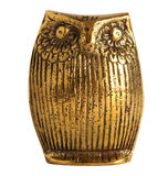Statuette of an Owl Stock Photos