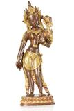 Statuette of Parvati Stock Photos