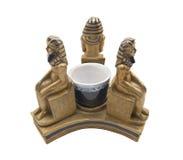 Statuette Pharaohs στοκ φωτογραφία με δικαίωμα ελεύθερης χρήσης
