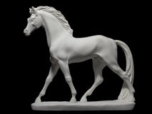 Statuette of purebred horse Stock Photo