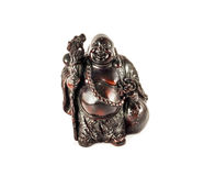 Statuette of travelling Buddha Royalty Free Stock Photography