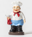 Statuette of the waiter Stock Photography