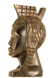 statuettekvinna Royaltyfri Foto