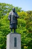 Stature of Ieyasu Tokugawa Stock Images