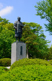 Stature of Ieyasu Tokugawa Stock Image