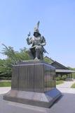 Stature of Japanese Samurai Royalty Free Stock Image