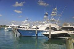 Status łodzie rybackie, Zachodni palm beach, Floryda, usa obrazy stock