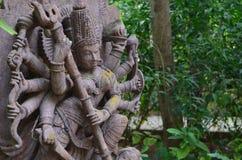 Status av Durga Royaltyfri Bild