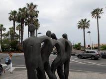 Status ceuta,Ceuta, Spain. For friends status in ceuta city center Stock Image