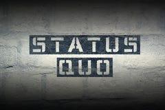 Status quo GR obraz royalty free