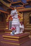 Status w Tajlandzkiej świątyni zdjęcia stock