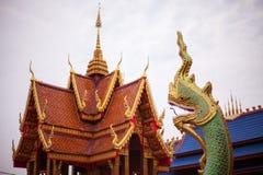 Status w Tajlandzkiej świątyni fotografia stock