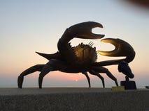Statut de crabe en Thaïlande Photo stock