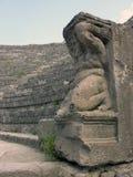 Statute in Pompeii Royalty Free Stock Photo