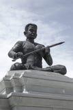 statuti nella pagoda dell'argento di Royal Palace di festa dell'indipendenza della Cambogia Fotografia Stock