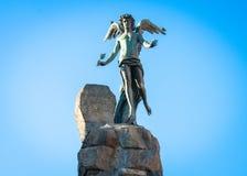 Statuto аркады Турин Италия стоковое фото rf