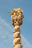 Statuut van de Heilige Drievuldigheid, Sopron, Hongarije Stock Afbeeldingen