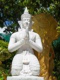 Statuy świątynia Tajlandia zdjęcia stock
