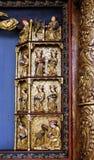 Statuy święty, 15 wiek, od kościół królowa Święty różaniec w Remetine, Chorwacja Obraz Stock