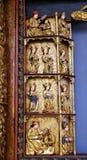 Statuy święty, 15 wiek, od kościół królowa Święty różaniec w Remetine, Chorwacja Obrazy Stock
