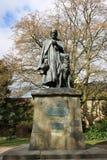 Statuy Alfred władyka Tennyson Lincoln katedrą, Zdjęcie Stock