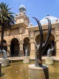 Statuy antylopy, słońca miasto, Południowa Afryka Zdjęcia Royalty Free