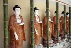 Statuy Buddha Obraz Royalty Free