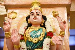 Statuy Hinduscy bóg fotografia royalty free