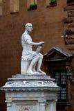 Statuy Lodovico De Medici piazza San Lorenzo, Florencja, Włochy Zdjęcie Royalty Free