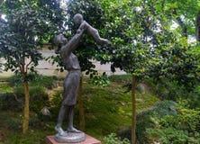 Statuy mothr i dziecko, Obraz Stock