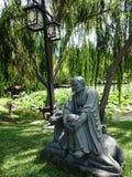 Statuy Osiemnaście dyscyplin Buddha @ Nan Tien świątynia - Australia Obraz Royalty Free