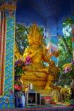 Statuy przy dziesięcia tysięcy Buddhas monasterem w Sha cynie, Hong Kong, Chiny Zdjęcia Stock