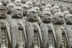 Statuy przy Japońską świątynią Zdjęcia Royalty Free