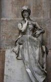 statuy siedząca kobieta Zdjęcie Stock