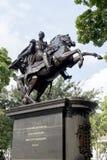 Statuy Simon bolivar zdjęcie royalty free