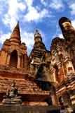 Statuy sukhothai park narodowy obraz royalty free