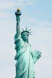 Statuy swobody Nowy Jork tło Obraz Stock