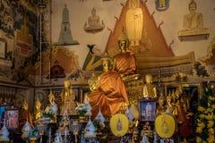 Statuy tajlandzkie budha, Asia, Bangkok Fotografia Stock