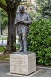 Statuy uznanie Jose Joaquin Arazuri, Pamplona Hiszpania Obrazy Royalty Free