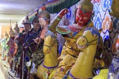 Statuy w Matisi świątyni Zdjęcie Royalty Free