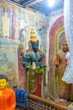 Statuy w Yudaganawa świątyni Obraz Stock