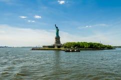Statuy Wolności wyspa, Nowy Jork Fotografia Stock