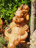 Statuy zwierzę Tajlandzki Zdjęcia Royalty Free