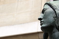 Staty of Antoine Bourdelle Stock Photography