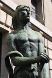 Staty of Antoine Bourdelle Stock Photo
