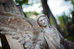 Staty av ängeln Royaltyfria Bilder
